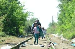 migranter Royaltyfri Bild