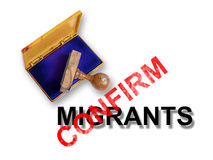 Migrants Royalty Free Stock Images