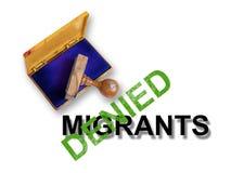 Migrants Stock Image