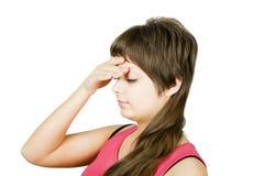 migren kobiety s zdjęcia stock