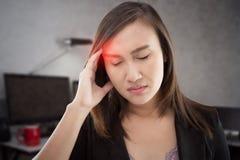 Migrena zdjęcia stock