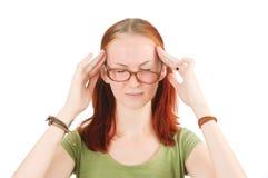 Migrena. Obrazy Stock