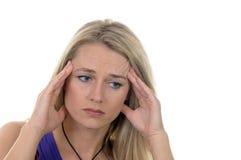 migreny Obraz Stock