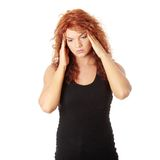 migreny kobieta Fotografia Stock