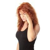 migreny kobieta Obraz Royalty Free
