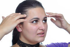 migreny migrena zdjęcie royalty free