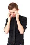 migreny praca zdjęcia stock