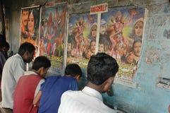 Migrerende Arbeid in Kolkata Royalty-vrije Stock Foto's