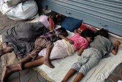 Migrerende arbeid in Kolkata royalty-vrije stock afbeelding