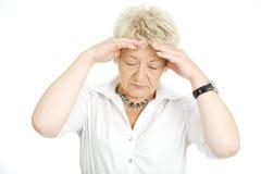 Migräne Lizenzfreie Stockbilder