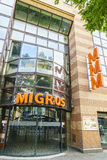 Migros swiss grocery store Royalty Free Stock Photography