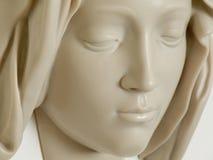 Miguel Ángel, cara de la Virgen, Ciudad del Vaticano fotografía de archivo