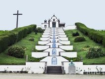 Εκκλησία στο νησί του Miguel Σάο Στοκ Φωτογραφία