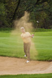 Miguel Angel Jimenez - Bunker Shot - NGC2010 Stock Photos