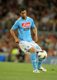 Miguel Britos of SSC Napoli Royalty Free Stock Photo