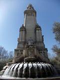 Miguel de Θερβάντες Monument Μαδρίτη Στοκ εικόνα με δικαίωμα ελεύθερης χρήσης