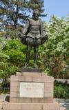 Miguel de Cervantes Saavedra Statue Stock Images