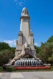 Miguel De Cervantes zabytek Fotografia Royalty Free
