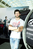 Miguel Faisca-@PlayStation - de Academie van GT, 2014 Royalty-vrije Stock Fotografie