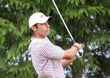 Miguel Fajardo at the golf Prevens Trpohee 2009 Royalty Free Stock Images