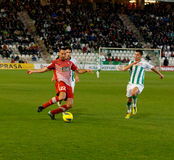 Miguel Gonzalez From Girona F.C. match league Stock Photos