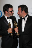 Miguel Hazanavicius, Jean Dujardin Imágenes de archivo libres de regalías