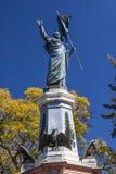 Miguel hidalga statuy Dolores hidalgo Meksyk Fotografia Royalty Free