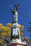 Miguel Hidalgo Statue Dolores Hidalgo Mexico Royaltyfri Fotografi