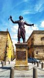 Miguel Hidalgo statue stock images