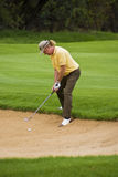 Miguel Jimenez - Bunker Shot Royalty Free Stock Images