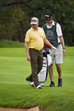 Miguel Jimenez and Caddie Stock Photos