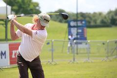 Miguel A Jimenez at the French Open 2012 Stock Images
