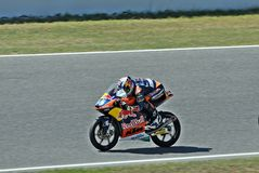 Miguel oliveira in the circuit of Catalonia Stock Photos
