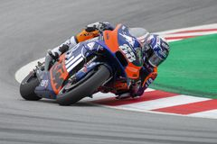 Miguel Oliveira. Grand Prix of Catalonia MotoGP at Circuit of Catalonia. Barcelona, Spain, June, 2019 royalty free stock image