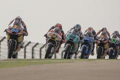 Miguel Oliveira Moto3 Grand Prix Movistar Aragà ³ ν Στοκ εικόνες με δικαίωμα ελεύθερης χρήσης
