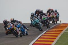 Miguel Oliveira Moto3 Grand Prix Movistar Aragà ³ ν MotoGP Στοκ Εικόνα