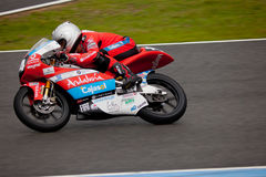 Miguel Oliveira pilot of 125cc in the CEV Stock Photo