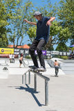 Miguel Pinto during the DC Skate Challenge Stock Photo