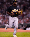 Miguel Tejada, Oakland A's infielder Royalty Free Stock Photos