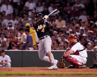 Miguel Tejada, Oakland A's infielder Royalty Free Stock Photography