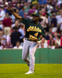 Miguel Tejada, Oakland A's infielder Royalty Free Stock Images