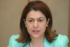 Mihaela Geoana Royalty Free Stock Photo