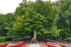 Mihai Eminescu Monument Stock Photography