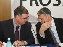 Mihai Manoliu and Roberto Musneci Royalty Free Stock Image