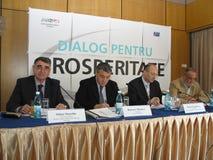 Mihai Manoliu and Roberto Musneci Stock Photo