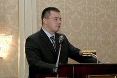 Mihai Razvan温古雷亚努 库存图片