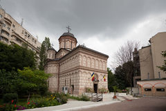Mihai Voda kyrka arkivfoto