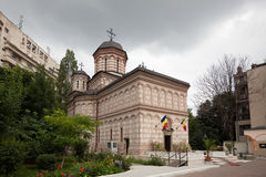 Mihai Voda kyrka Arkivbild