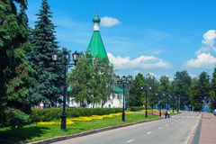 Mihailo - Archangelsky Cathedral in Nizhny Novgorod, Russia Stock Image