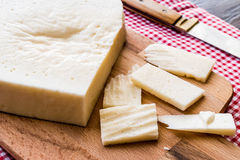 Mihalic peyniri / Turkish Cheese stock photography
